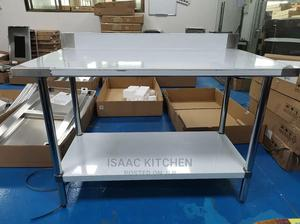 5ft Working Table Stainless   Restaurant & Catering Equipment for sale in Lagos State, Lagos Island (Eko)