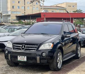 Mercedes-Benz M Class 2008 Black   Cars for sale in Abuja (FCT) State, Jahi