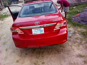 Toyota Corolla 2010 Red   Cars for sale in Delta State, Warri