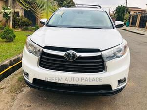 Toyota Highlander 2015 White | Cars for sale in Lagos State, Gbagada
