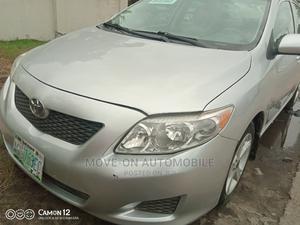 Toyota Corolla 2009 1.4 Advanced Silver | Cars for sale in Lagos State, Amuwo-Odofin
