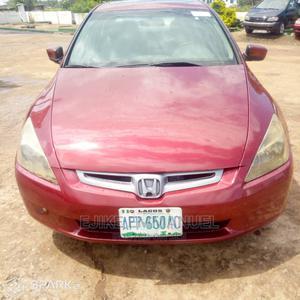 Honda Accord 2003 2.4 Automatic Red | Cars for sale in Abuja (FCT) State, Gwagwalada
