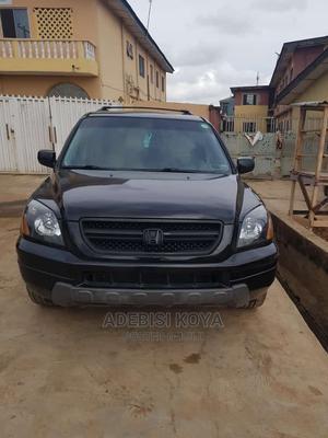 Honda Pilot 2005 EX-L 4x4 (3.5L 6cyl 5A) Black | Cars for sale in Lagos State, Abule Egba