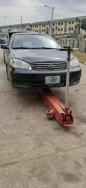 Toyota Corolla 2004 Sedan Automatic Black | Cars for sale in Lagos State, Ifako-Ijaiye