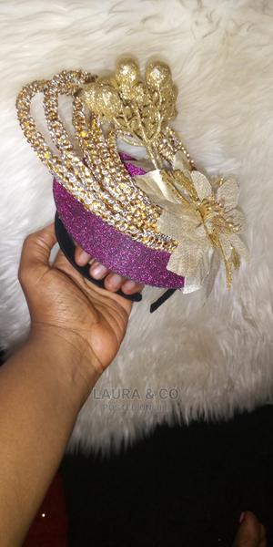 Gold Fascinator | Clothing Accessories for sale in Abuja (FCT) State, Kubwa