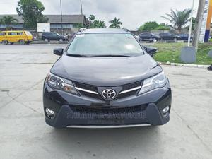 Toyota RAV4 2013 XLE AWD (2.5L 4cyl 6A) Black   Cars for sale in Lagos State, Yaba