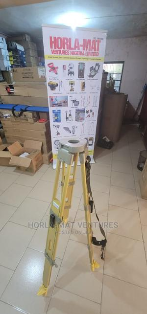 Wooden Tripod With Double Lock for Total Station   Measuring & Layout Tools for sale in Oyo State, Ibadan