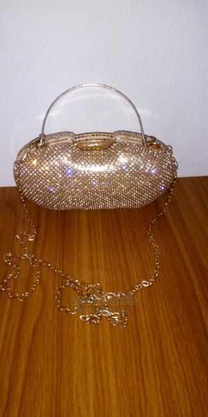 Gold Clutch Bag   Bags for sale in Abuja (FCT) State, Kubwa