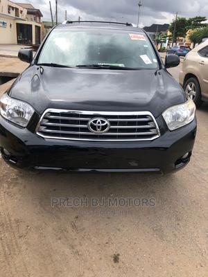 Toyota Highlander 2008 Limited 4x4 Black   Cars for sale in Lagos State, Ogba