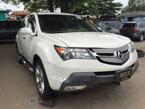 Acura MDX 2008 SUV 4dr AWD (3.7 6cyl 5A) White   Cars for sale in Lagos State, Apapa
