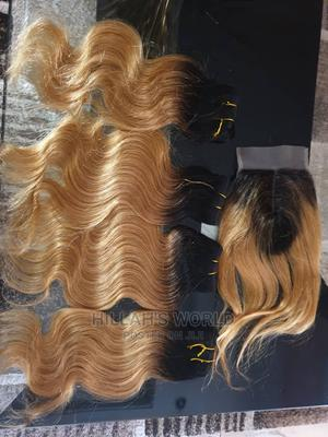 High Quality 14 Inch Gold Human Hair   Hair Beauty for sale in Abuja (FCT) State, Lugbe District
