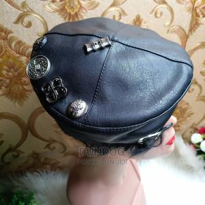 Embellished Leather Cap With Adjustable Strap   Clothing Accessories for sale in Lagos State, Ikeja