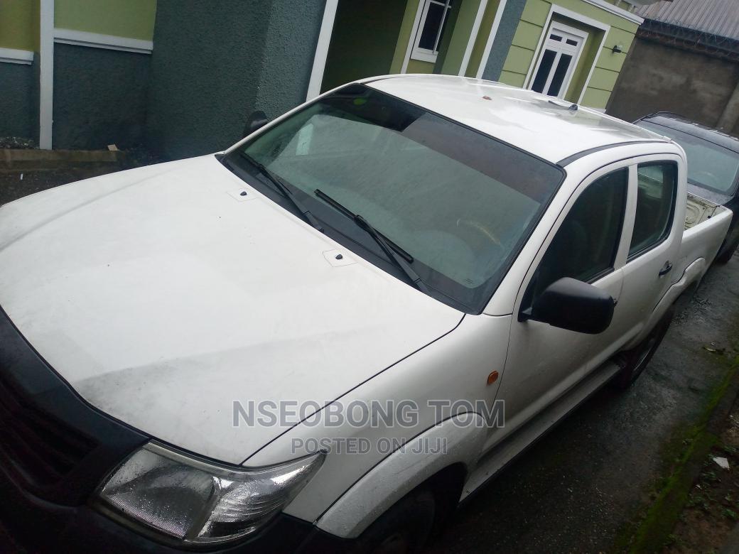 Toyota Hilux 2013 White   Cars for sale in Uyo, Akwa Ibom State, Nigeria