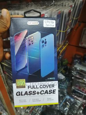 360 Full Cover Back+Glass Case for iPhone 12 Pro Max | Accessories for Mobile Phones & Tablets for sale in Lagos State, Ikeja