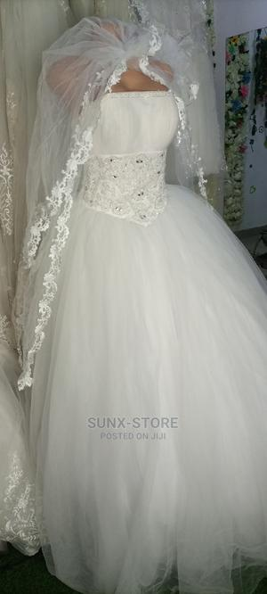Wedding Gown And Vail For Sale | Wedding Wear & Accessories for sale in Abuja (FCT) State, Mpape