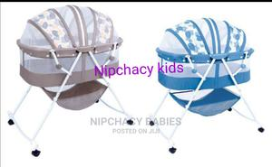 Baby Sweet Rocking Bassinet Bed   Children's Furniture for sale in Lagos State, Amuwo-Odofin
