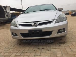 Honda Accord 2006 Sedan LX 3.0 V6 Automatic Silver | Cars for sale in Lagos State, Ikeja