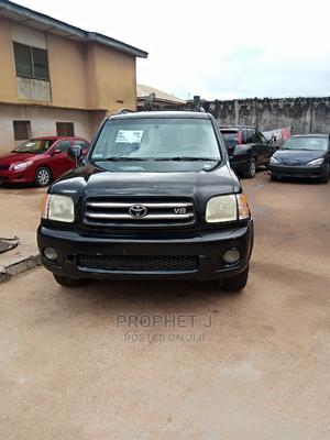 Toyota Sequoia 2002 Black | Cars for sale in Lagos State, Ikotun/Igando