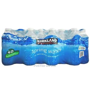 Kirkland Signature Spring Drinking Water by 40 | Meals & Drinks for sale in Lagos State, Lekki