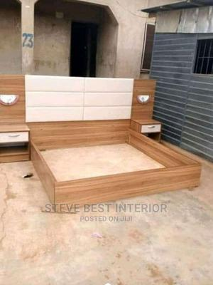 6by6 Design Bed Frame With Double Side Drawer | Furniture for sale in Lagos State, Ojo