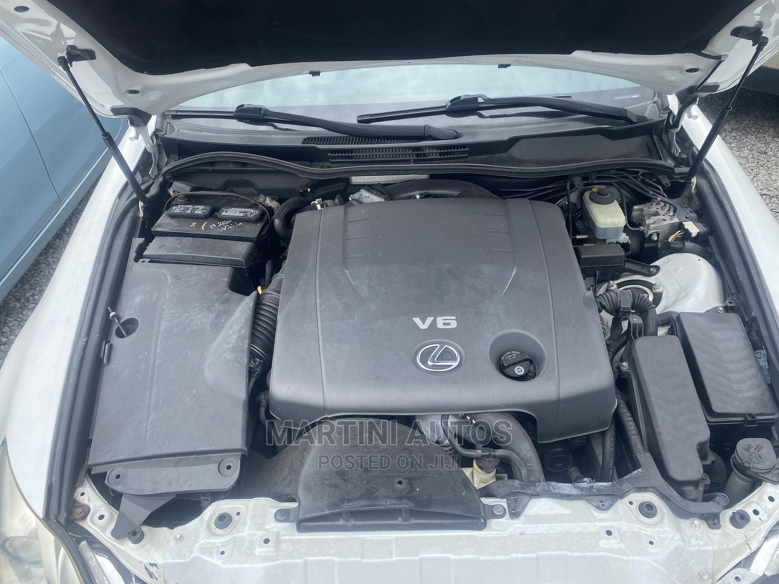 Lexus IS 2007 White | Cars for sale in Yaba, Lagos State, Nigeria