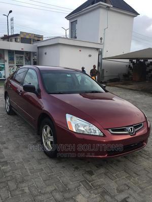 Honda Accord 2005 Burgandy | Cars for sale in Lagos State, Ajah