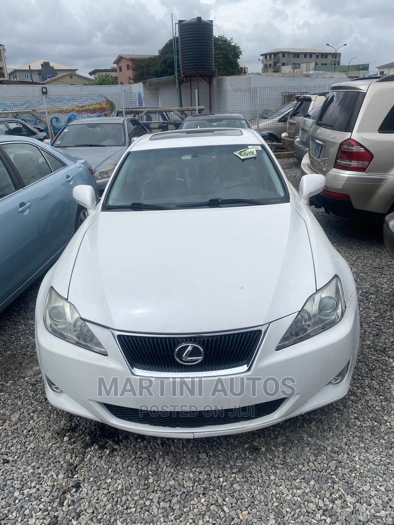 Lexus IS 2007 White