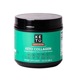 Perfect Keto Collagen Protein Powder Peanut Butter 395g 133o   Vitamins & Supplements for sale in Lagos State, Amuwo-Odofin