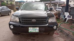 Toyota Highlander 2003 Limited V6 FWD Black | Cars for sale in Oyo State, Ibadan