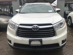 Toyota Highlander 2016 XLE V6 4x4 (3.5L 6cyl 6A) White | Cars for sale in Lagos State, Ikeja