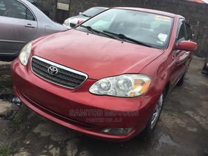 Toyota Corolla 2006 Red   Cars for sale in Lagos State, Apapa