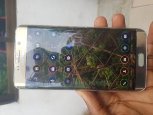 Samsung Galaxy S6 Edge Plus 32 GB Gold   Mobile Phones for sale in Akwa Ibom State, Uyo