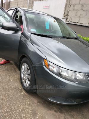 Kia Forte 2013 LX Sedan Gray | Cars for sale in Lagos State, Ogba