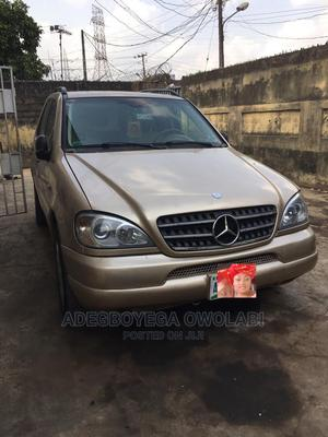 Mercedes-Benz M Class 2002 ML 320 Gold   Cars for sale in Lagos State, Mushin