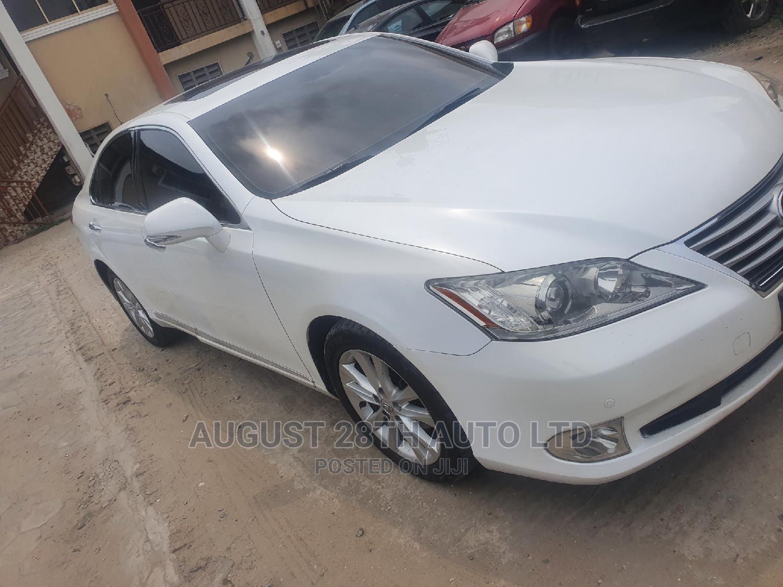 Lexus ES 2011 350 White | Cars for sale in Amuwo-Odofin, Lagos State, Nigeria
