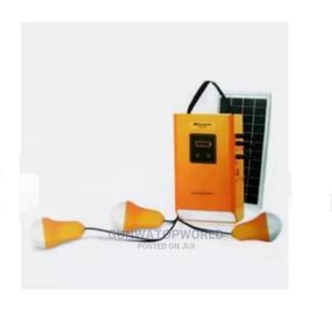 Kamisafe 5000mah Mobile Solar Power Kit With 3 Led Bulbs   Solar Energy for sale in Ogun State, Abeokuta South