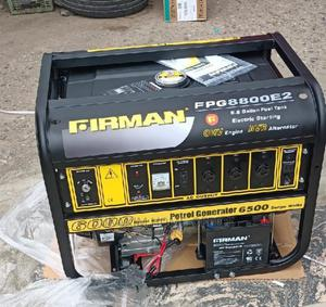 Quality 6.5kva Firman Full Copper Coil Generator FPG8800E2 | Electrical Equipment for sale in Abuja (FCT) State, Wuse