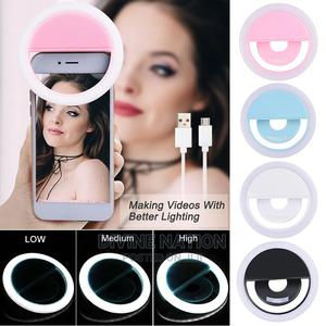 Mobile Phone Led Selfie Ring Light USB Charge   Home Accessories for sale in Lagos State, Lagos Island (Eko)