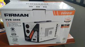 Firman Automatic Voltage Regulator(Stabilizer) 2000W   Home Appliances for sale in Lagos State, Amuwo-Odofin