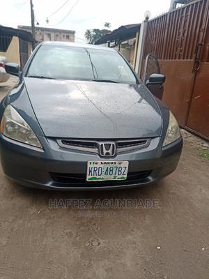 Honda Accord 2005 Sedan EX Automatic Gray | Cars for sale in Lagos State, Surulere