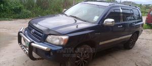 Toyota Highlander 2004 Limited V6 4x4 Blue | Cars for sale in Ekiti State, Ado Ekiti