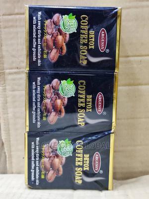 Argussy Coffee Soap Skin Body Repair, Acne, Exfoliate, 6pcs | Bath & Body for sale in Lagos State, Amuwo-Odofin