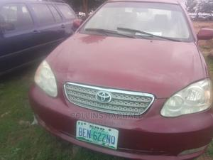 Toyota Corolla 2004 Red | Cars for sale in Abuja (FCT) State, Maitama