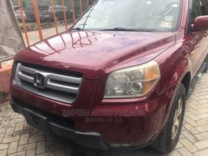 Honda Pilot 2006 EX 4x4 (3.5L 6cyl 5A) Red | Cars for sale in Lagos State, Magodo
