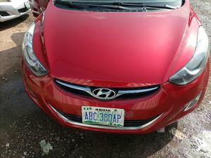 Hyundai Elantra 2013 Red   Cars for sale in Abuja (FCT) State, Central Business District