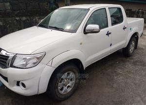 Toyota Hilux 2013 WORKMATE 4x4 White   Cars for sale in Delta State, Warri