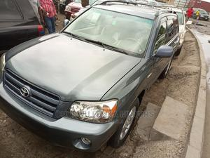 Toyota Highlander 2006 Limited V6 4x4 Gray | Cars for sale in Lagos State, Apapa