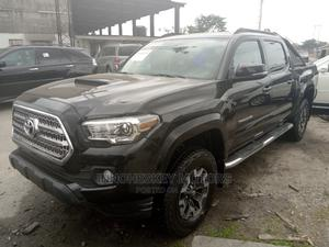 Toyota Tacoma 2016 4dr Double Cab Black | Cars for sale in Lagos State, Apapa
