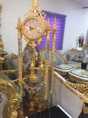 Imported Standing Clock With Metal Body | Home Accessories for sale in Lagos State, Ikoyi