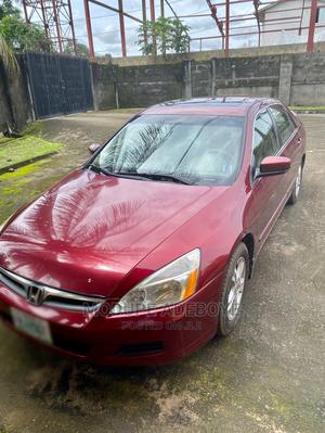 Honda Accord 2006 Sedan EX Automatic Red | Cars for sale in Cross River State, Calabar